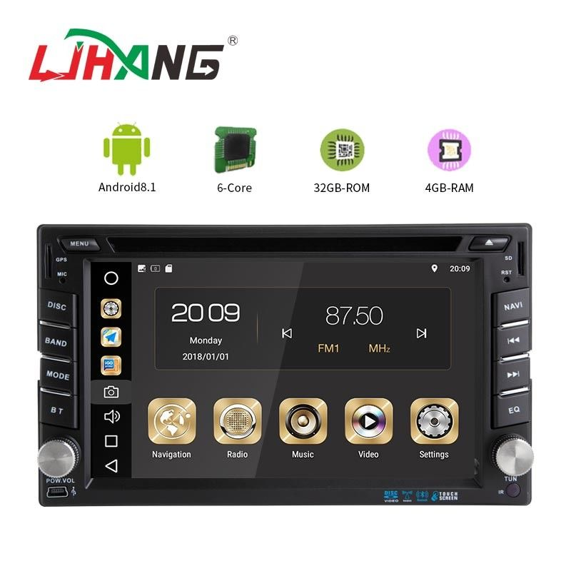 Android 8.1 Universal Car DVD Player With USB SD SWC FM TV Function