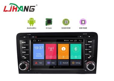 4 + 32G Audi Android Car Dvd Player tích hợp GPS với BT GPS DVR Mirror Link